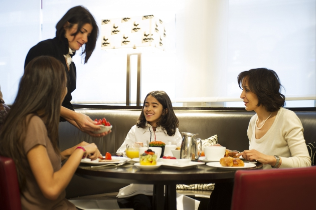 Hotel Amigo Brussels - Family Breakfast in Bocconi 1.JPG