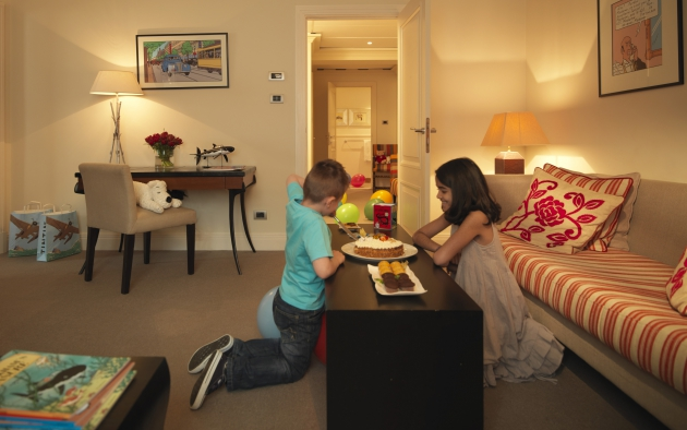 Hotel Amigo Brussels - Children in the Tintin Suite.jpg