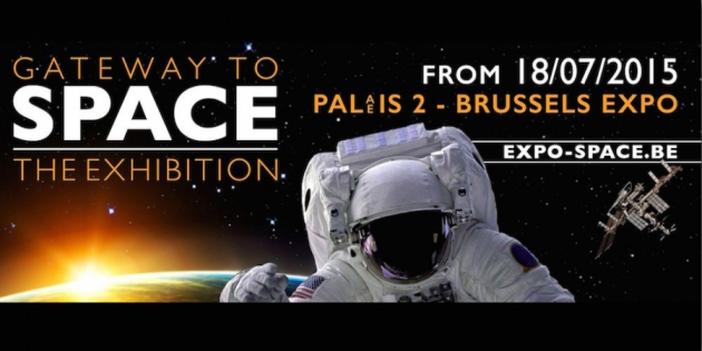 Gateway to Space: The Exhibition, expo, Brussel, maan, ruimte, wedstrijd
